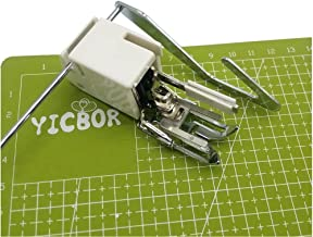 YICBOR Walking Foot Even Feed with Quilting Guide Fits Babylock,Brother,Elna,Janome,Juki,Kenmore #214875014