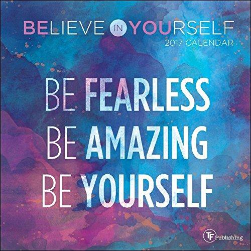 TF Publishing 2017 Believe in Yourself Mini Calendar (17-2023)