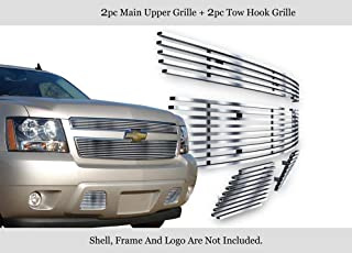 /'07-14 Chevy Tahoe Suburban Avalanche LS LT Chrome Mesh Grille Insert GI//33X