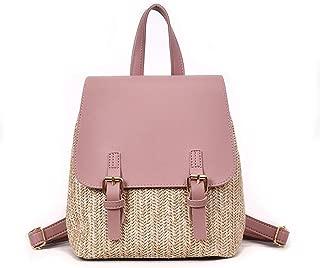 Straw Woven Backpack Women Back Pack Summer Girl Quality Backpacks Travel Bags