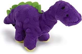 goDog Just For Me Bruto with Chew Guard Technology Plush Dog Toy, Purple