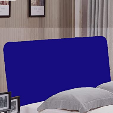 D DOLITY for Headboard Protective Cover, Blue, 150x80cm