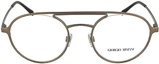Luxury Fashion | Giorgio Armani Mens 50813006 Brown Glasses |