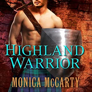 Highland Warrior audiobook cover art
