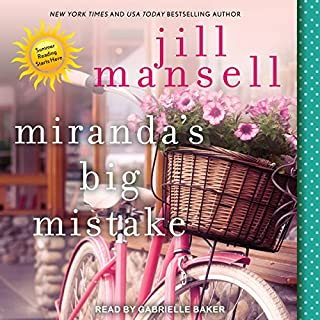 Miranda's Big Mistake audiobook cover art