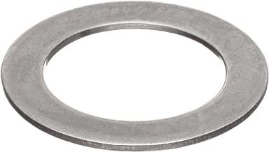 """مغسول مسطح Shim 18-8 الفولاذ المقاوم للصدأ، مقاس المسمار 5/16"""" 0. 313-0. 318"""" ID. 495-.505"""" OD, 0. 005"""" سميك (عبوة من 25)"""