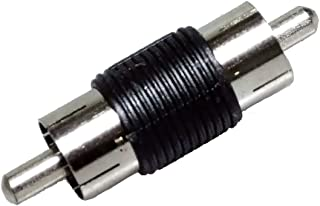 Conwork 5-Pack Male to Male RCA Connector A/V Joiner Video and Audio Coupler Adapter Component