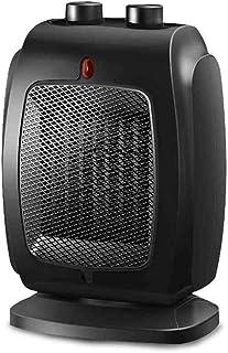 Radiador eléctrico MAHZONG 1800W Mini Calentador Oscilación Portátil Calefacción Oficina en el Hogar