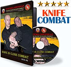KNIFE SELF-DEFENSE DVD - Martial Art Training Video of Knife Fighting Techniques by Russian Systema Spetsnaz, Hand to Hand Combat Training At Home for Beginners and Advanced Students