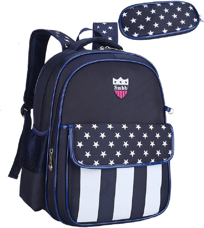 MAIBU Kinder Rucksack Durable Schultasche mit Bleistift-Fall Netter Bookbag für Mädchen Jungen B01KGYF7HK | Outlet