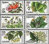 Prophila Collection DDR 2287-2292 (kompl.Ausg.) 1978 Arzneipflanzen (Briefmarken für Sammler) Pflanzen / Pilze