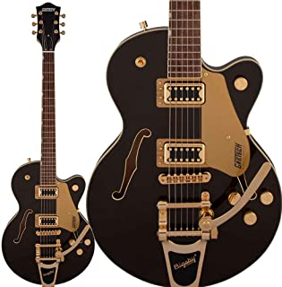 Gretsch G5655TG Electromatic Center Block Jr. Single-Cut with Bigsby, Black Gold