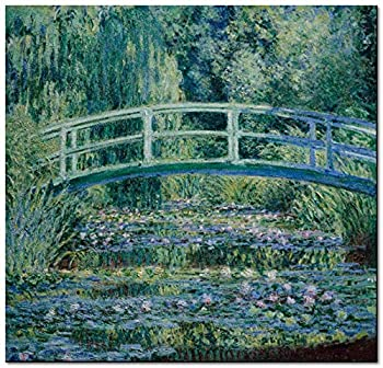 DIY Kits for Adults Monet s Impressionist Painting Water Lily and Nihonbashi DIY Painting Paint by Numbers Kits On Canvas