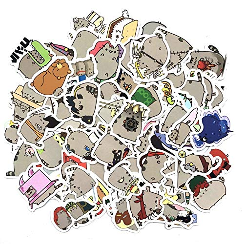 YYSDD Cute Fat Cat Decoration Stickers Diy Paper Sticker Scrapbooking For Diary Album Label Sticker Diary Travel Sticker 100Pcs/Pack