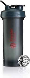BlenderBottlePro45Extra Large Shaker Bottle, Grey/Red, 45-Ounce
