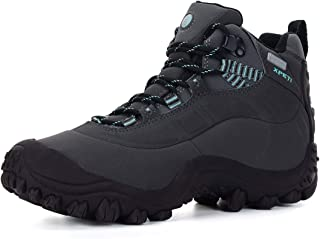 XPETI Women's Thermator Mid Waterproof Hiking Trail Outdoor Boot