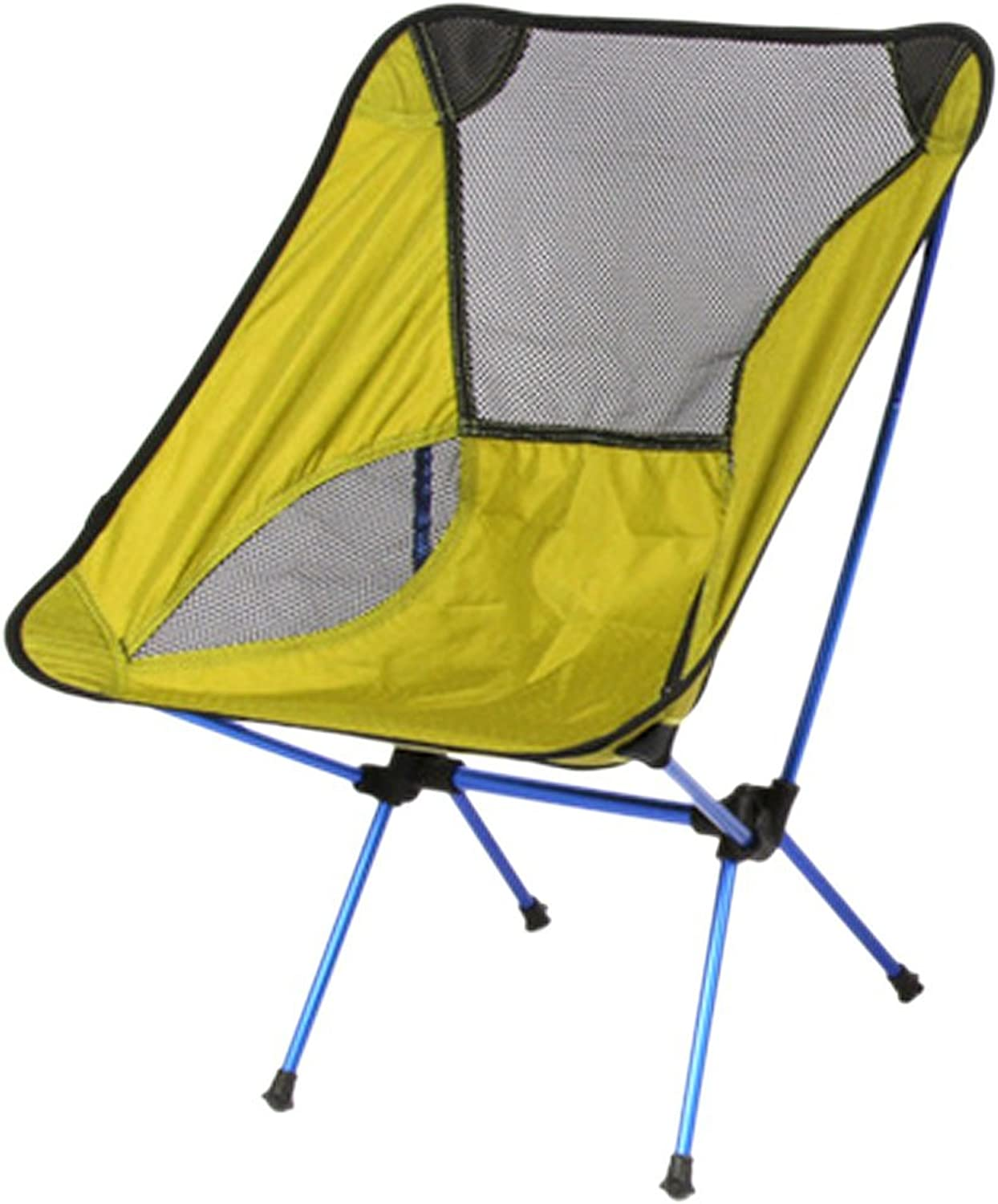 Ezyoutdoor Walkstool Compact Stool Portable Folding Chair with Case for Bivouac, Travel, Camping, Fishing,Hiking,Sports Travel Photography Backpacking with Very High Quality (Green)