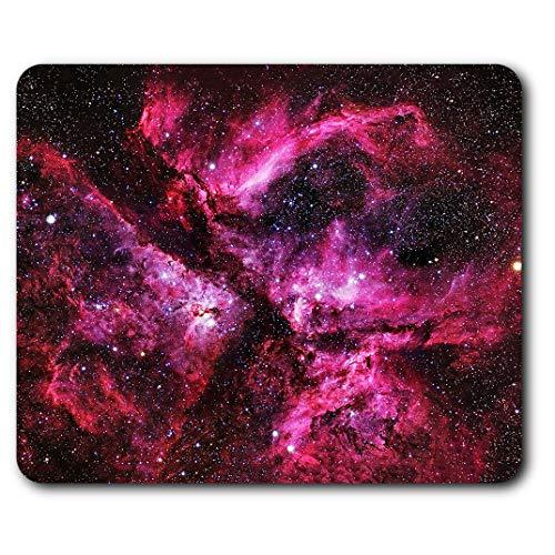 RM8941 Mauspad, komfortabel, Motiv Carina Nebula Space NASA, 23,5 x 19,6 cm, für Computer und Laptop, Büro, Geschenk, rutschfeste Unterseite, Pink