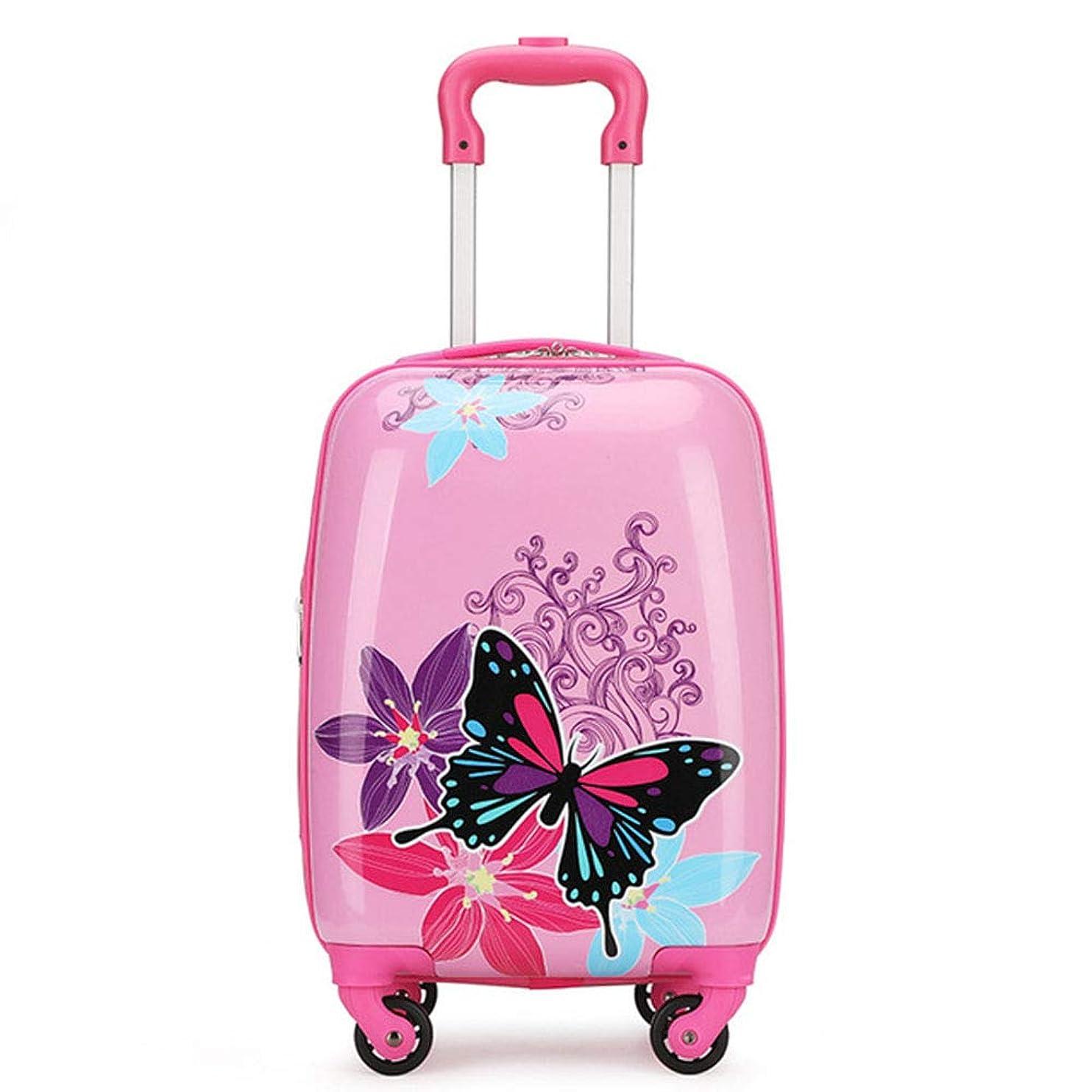 第二に十二クール18インチ子供荷物4スピナーホイール、軽量ハードシェルスーツケース、旅行トロリーABS用女の子男の子