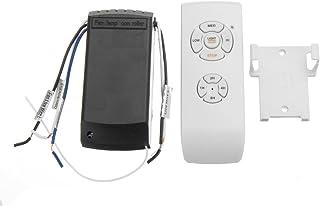MJJEsports Control Remoto Kit De La Lámpara Del Interruptor Y Temporización Mando A Distancia Inalámbrico Para El Ventilador De Techo Lámpara De Luz