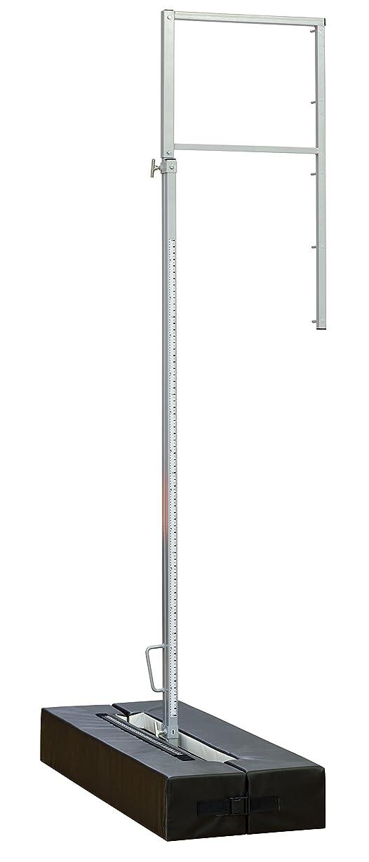 空白無能急降下Scholastic Pole Vault Standards with保護パッド(ペア)