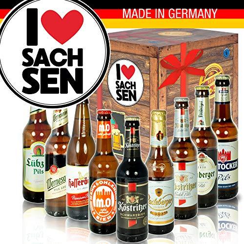 I Love Sachsen/DDR Produkte Bier/Geschenkset Sachsen