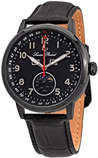 Lucien Piccard Complete Calendar Black Dial Men's Watch 40016-BB-01