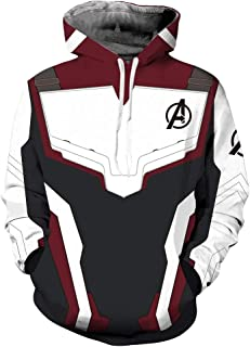 Superhero Hoodie Advanced Tech Sweatshirt Halloween Cosplay Hooded Jacket