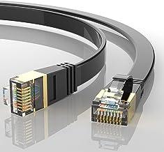 AUCAS Cat 8 Ethernet Cable 50u Gold Plated RJ45...