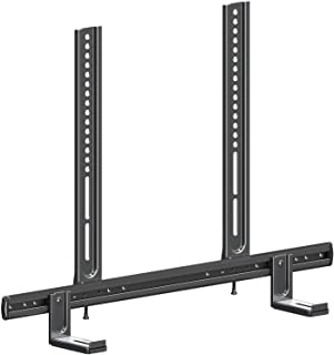 Mounting Dream Soundbar Mount for Most Soundbars with Holes/Without Holes up to 26.5LBS, Sound Bar Mounting Brackets for T...