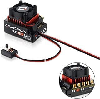 Xiangtat Hobby Wing QUICRUN 10BL120 Sensored 120A 2-3S Lipo Speed Controller Brushless ESC for 1/10 1/12 RC Car