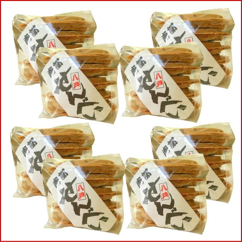 南部せんべい 豆(落花生ピーナッツ)10枚の8個セット