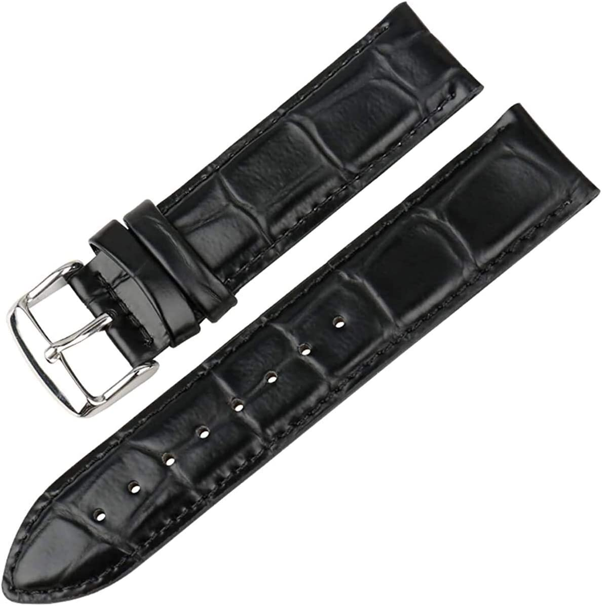 Ranking TOP13 QZMX Watch Strap Leather Band White with Gold Clasp W New York Mall Rose