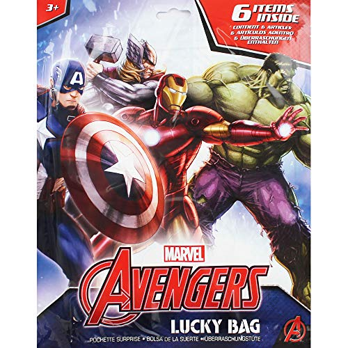 Marvel Avengers Lucky Sac (Lot de 6)
