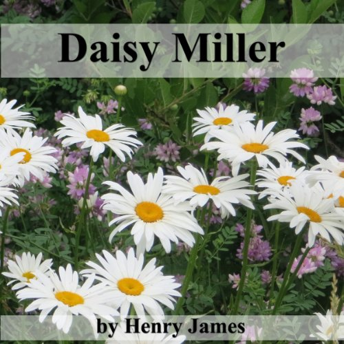 Daisy Miller audiobook cover art