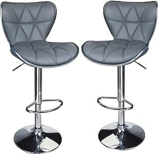 Best grey swivel bar stools Reviews