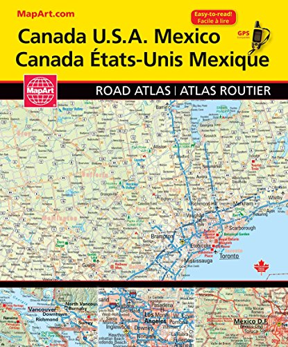 Canada USA Road Atlas