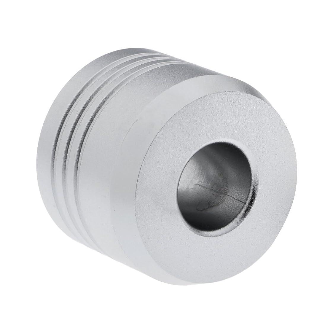 無関心著名な亡命Homyl カミソリスタンド スタンド シェービング カミソリホルダー ベース サポート 調節可 ミニサイズ デザイン 場所を節約 2色選べ   - 銀
