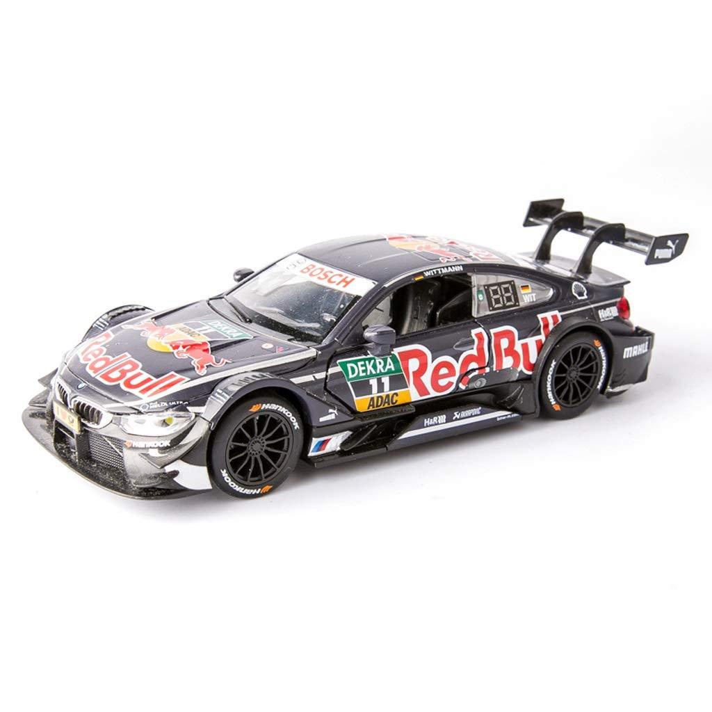 YAXIAO Modelo de Coche 1:32 M4 Rally Racing Simulación Aleación de ...
