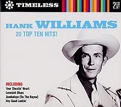 Hank Williams 20 Top Ten Hits! 2 CD Set