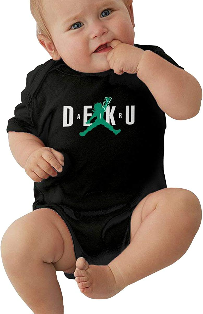 SoGoo Air Deku izuku midoriya Casual Baby Jersey Baby Soft Cotton Short-Sleeved T-Shirt