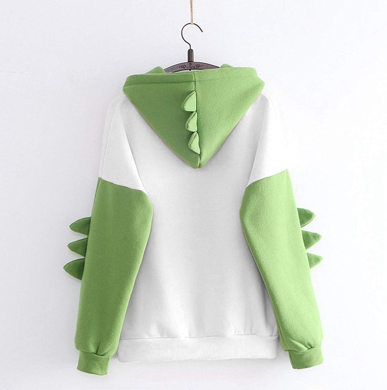 MASZONE Hoodies for Teen Girls Trendy Long Sleeve Sweatshirt Kawaii Tops Cartoon Cute Casual Pullover Blouse Tops