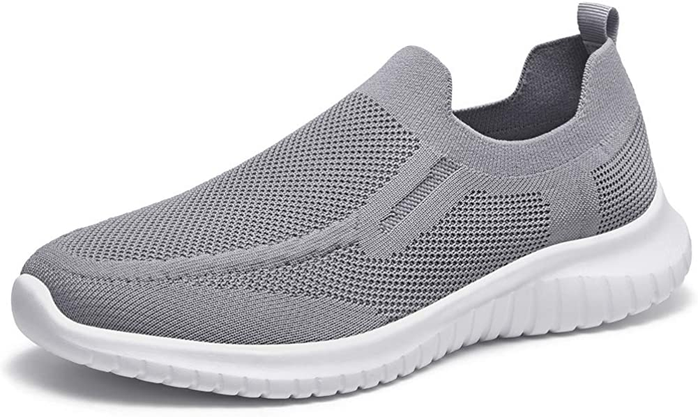 poemlady Men's Slip on Loafer SALENEW very popular! Mesh Phoenix Mall Comfortable Casual Shoes- Wal