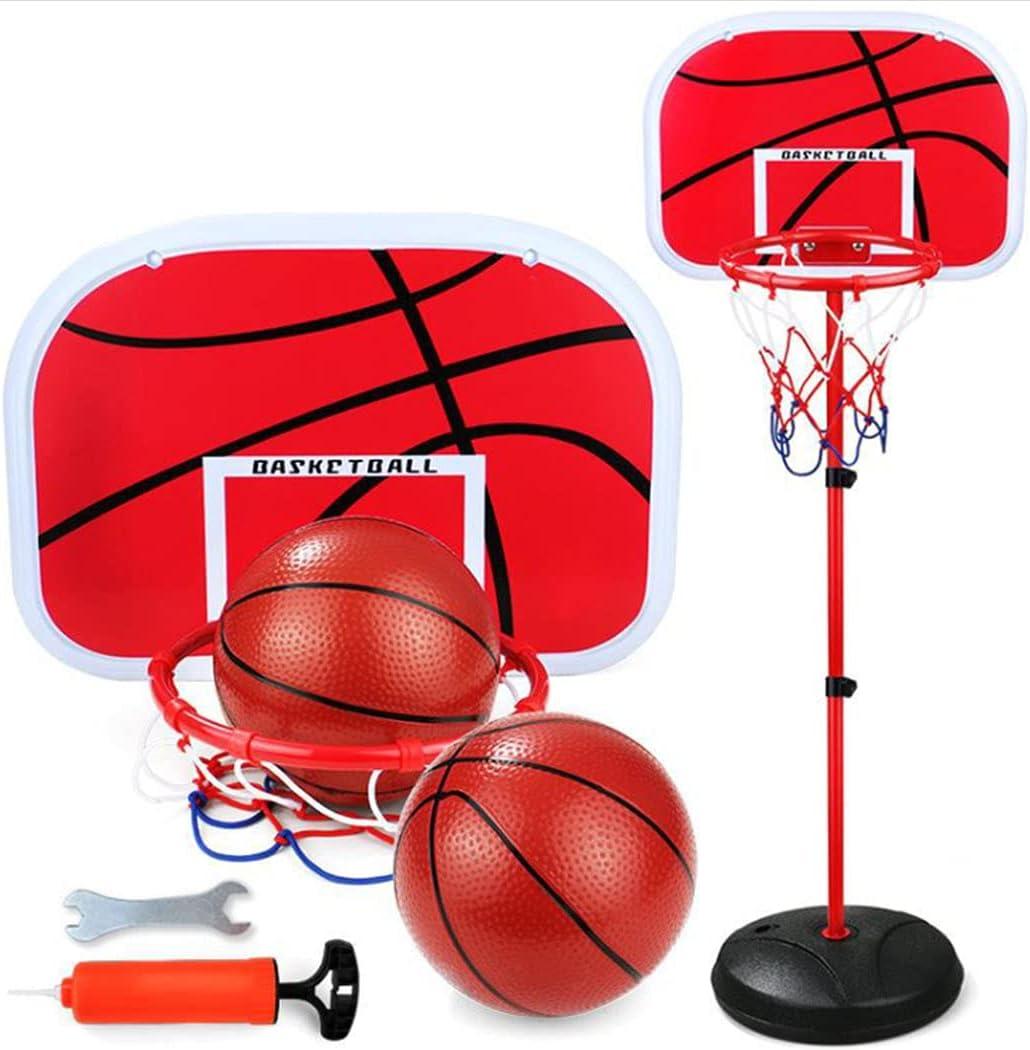 Vatocu Toddler Basketball Hoop Stand Adjustable Height Basketbal