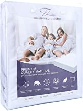 FLORICA Waterproof Mattress Protector Hypoallergenic Anti Bacterial&Dust-mite Single/Double/Queen/King (Double)