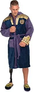 Thanos Outfit Marvel Fleece Adult Robe