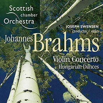 Brahms: Violin Concerto & Hungarian Dances