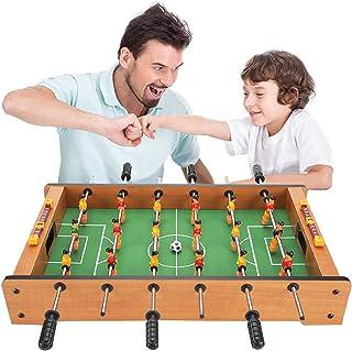 جدول كرة القدم Children Foosball Table With Ball, Portable Dexterous Mini Wooden Soccer Table Game, Foosball Games For Fam...