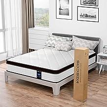 Full Mattress, Kescas 10 Inch Hybrid Memory Foam and Pocket Spring Mattress, Medium Firm Double Size Bed Mattress Designed...