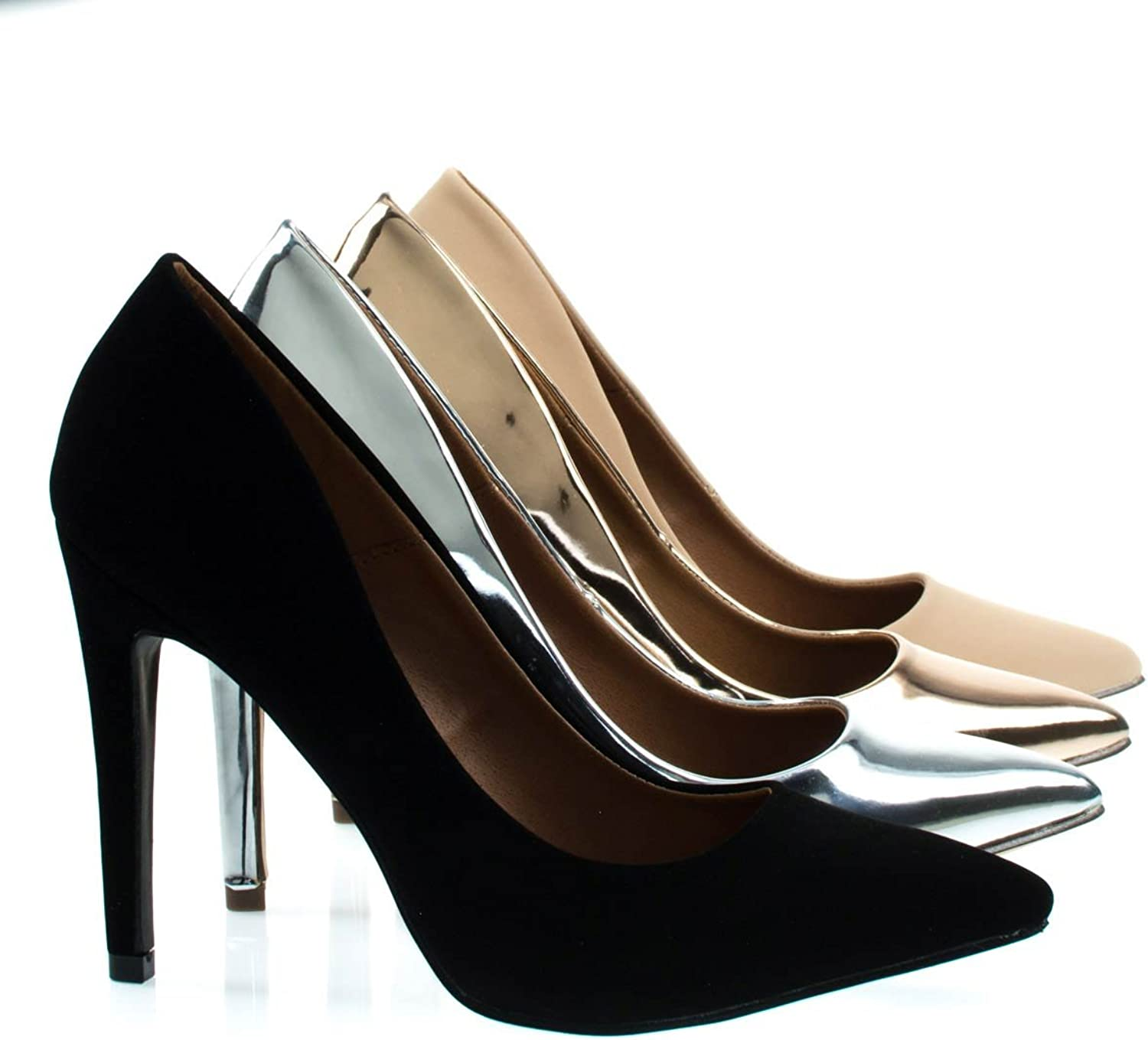 Bonnibel Classic Pointed Toe High Heel Stiletto Dress Pump